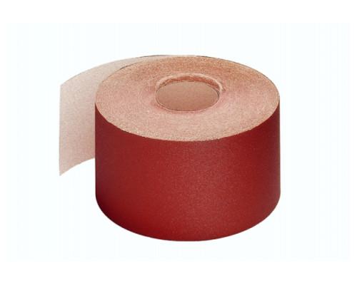 Шлифшкурка рулон №6Н (P180)0,100х3 метра 14А на тканевой основе, водостойкая